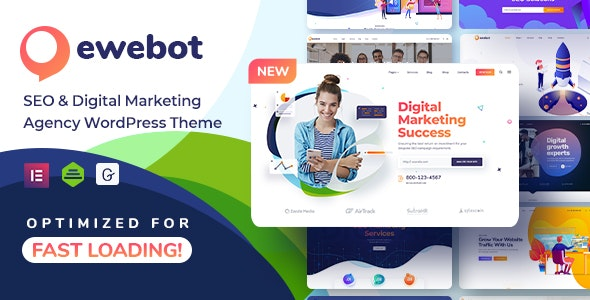 [GET] Nulled Ewebot v2.3.1 - SEO Digital Marketing Agency WordPress