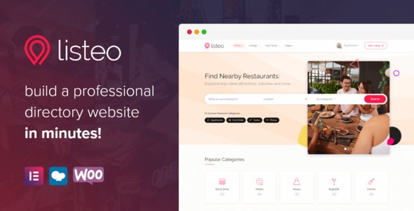 [GET] Nulled Listeo v1.6.05 - Directory & Listings With Booking WordPress