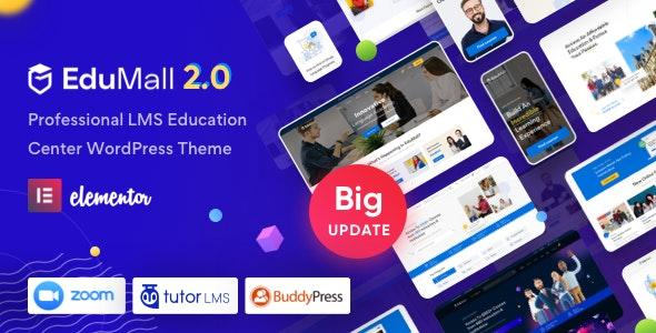 [GET] Nulled EduMall v2.6.0 - Professional LMS Education Center WordPress Theme
