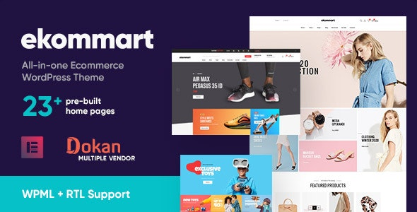 [GET] Nulled Ekommart v3.5.0 - All-in-one eCommerce WordPress Theme