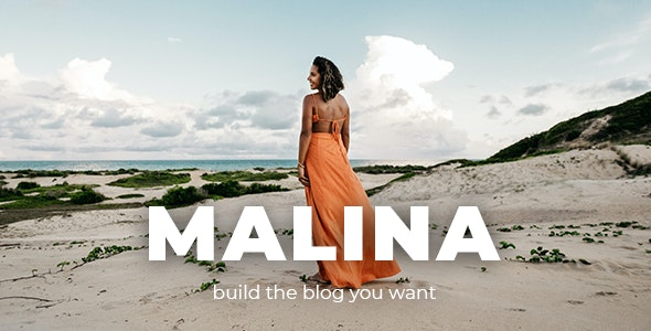 [GET] Nulled Malina v2.2.0 - Personal WordPress Blog Theme