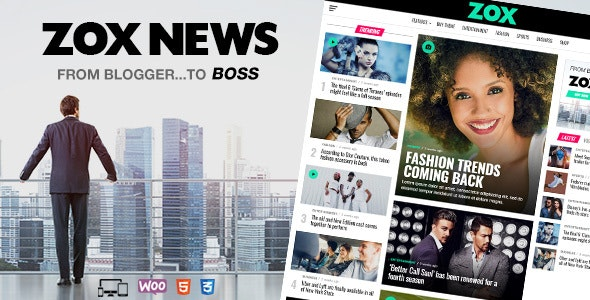[GET] Nulled Zox News v3.9.0 - Professional WordPress News