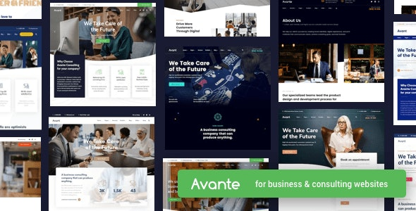 [GET] Nulled Avante v2.3.1 - Business Consulting WordPress