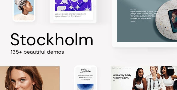 [GET] Nulled Stockholm v7.8 - A Genuinely Multi-Concept Theme