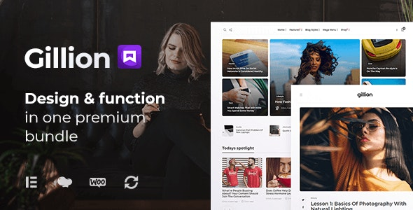 [GET] Nulled Gillion v4.0 - Multi-Concept Blog Magazine & Shop WordPress Theme