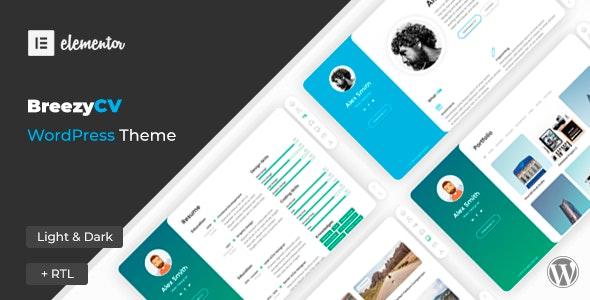 [GET] Nulled BreezyCV v1.5.1 - CV Resume WordPress Theme