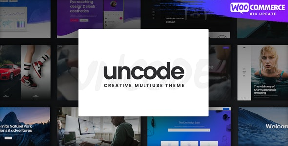 [GET] Nulled Uncode v2.3.6 - Creative Multiuse WordPress Theme