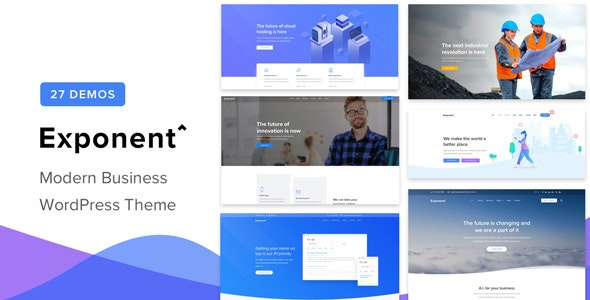 [GET] Nulled Exponent v1.2.9.0 - Modern Multi-Purpose Business Theme