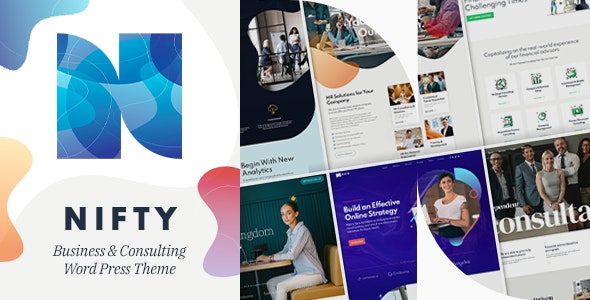 [GET] Nulled Nifty v1.0.6 - Business Consulting WordPress Theme