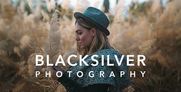 [GET] Nulled Blacksilver v8.5.3 - Photography Theme for WordPress