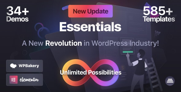 [GET] Nulled Essentials v1.2.9 - Multipurpose WordPress Theme