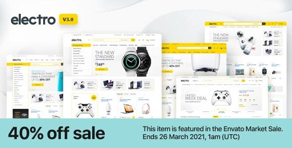 [GET] Nulled Electro v3.0.2 - Electronics Store WooCommerce Theme