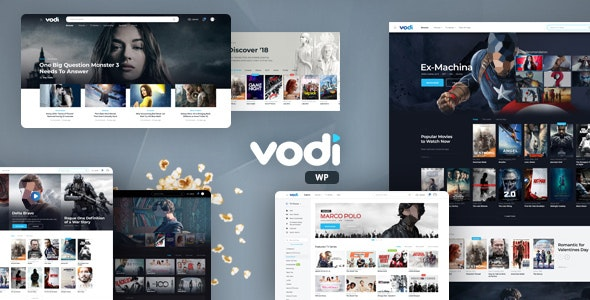 [GET] Nulled Vodi v1.2.5 - Video WordPress Theme for Movies & TV Shows