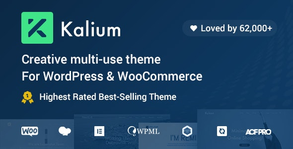 [GET] Nulled Kalium v3.2.1 - Creative Theme for Professionals