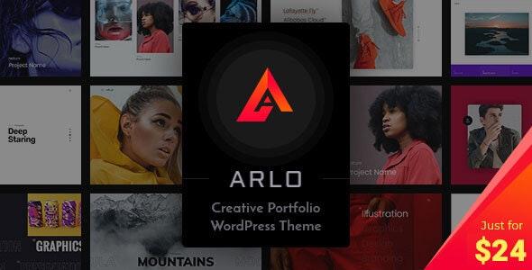 [GET] Nulled Arlo v3.6 - Portfolio WordPress Theme
