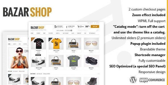 [GET] Nulled Bazar Shop v3.20.0 - MultiPurpose e-Commerce WordPress Theme