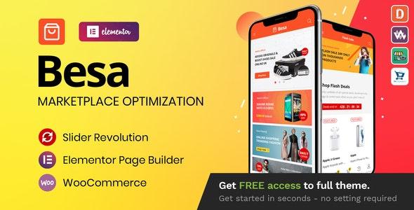 [GET] Nulled Besa v1.3.0 - Elementor Marketplace WooCommerce Theme