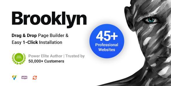[GET] Nulled Brooklyn v4.9.6.6 - Creative Multi-Purpose Responsive WordPress Theme