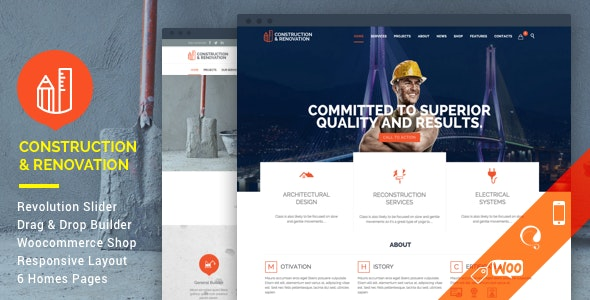 [GET] Nulled Construction v18.1 - Construction Building Company WordPress Theme