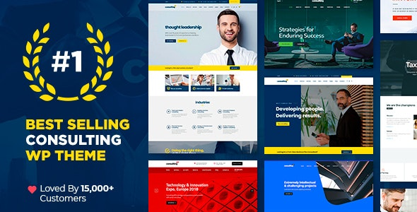[GET] Nulled Consulting v6.1.1 - Business, Finance WordPress Theme