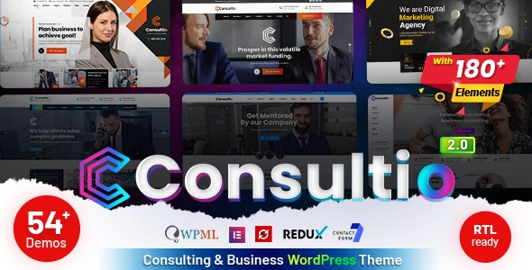 [GET] Nulled Consultio v2.0 - Consulting Corporate WordPress Theme