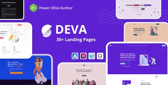 [GET] Nulled Deva v1.0.5 - 30+ Landing Pages WordPress Theme