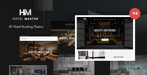 [GET] Nulled Hotel Master v4.1.2 - Hotel Booking WordPress Theme