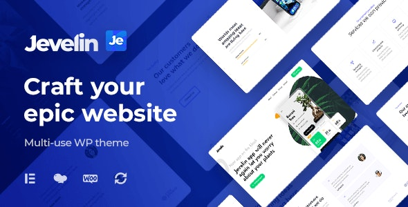 [GET] Nulled Jevelin v5.0.2 - Multi-Purpose Premium Responsive Theme
