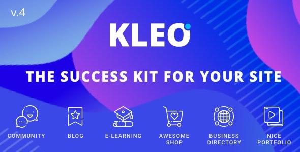 [GET] Nulled KLEO v5.0.1 - Next level WordPress Theme