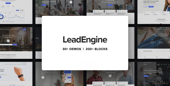 [GET] Nulled LeadEngine v2.9 - Multi-Purpose Theme with Page Builder