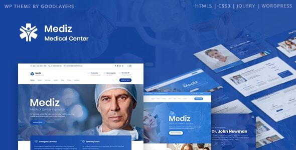 [GET] Nulled Mediz v2.0.3 - Medical WordPress Theme