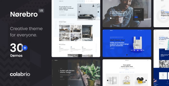 [GET] Nulled Norebro v1.5.3 - Creative Multipurpose WordPress Theme