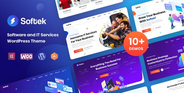 [GET] Nulled Softek v1.2.0 - Software & IT Solutions WordPress Theme