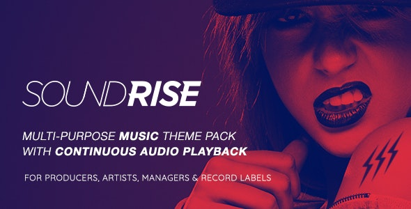 [GET] Nulled SoundRise v1.5.7 - Artists, Producers and Record Labels Theme