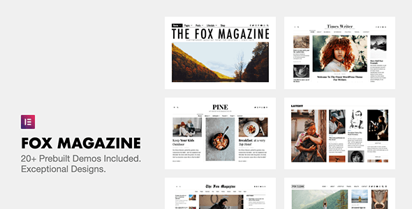 [GET] Nulled The Fox v4.6.7.1 - Minimal WordPress Blog Magazine Theme