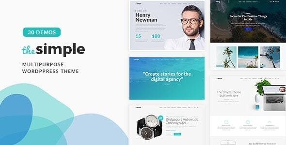 [GET] Nulled The Simple v2.6.1 - Business WordPress Theme
