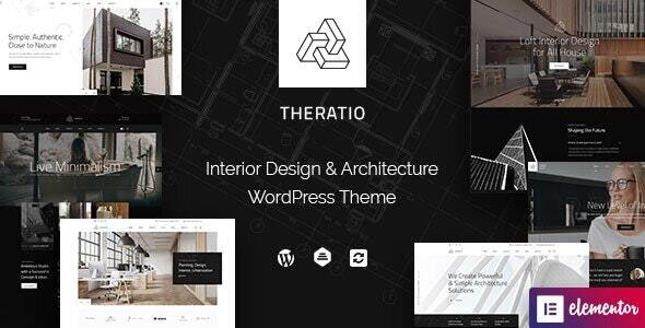 [GET] Nulled Theratio v1.1.4.3 - Architecture & Interior Design Elementor WordPress Theme