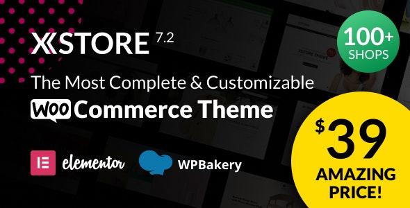[GET] Nulled XStore v7.2.7 - Responsive MultiPurpose WooCommerce WordPress Theme